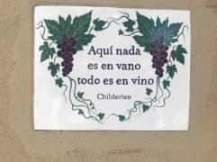 Poetry in the vineyards
