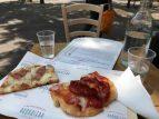 Savoring delicious pizzas at Buongiorno e buonasera