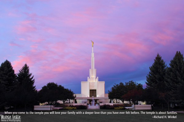 Denver LDS Temple, Mormon Temple