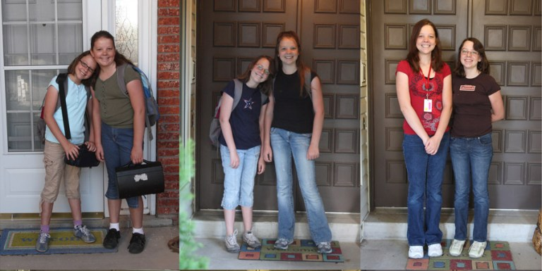 first day of school pictures