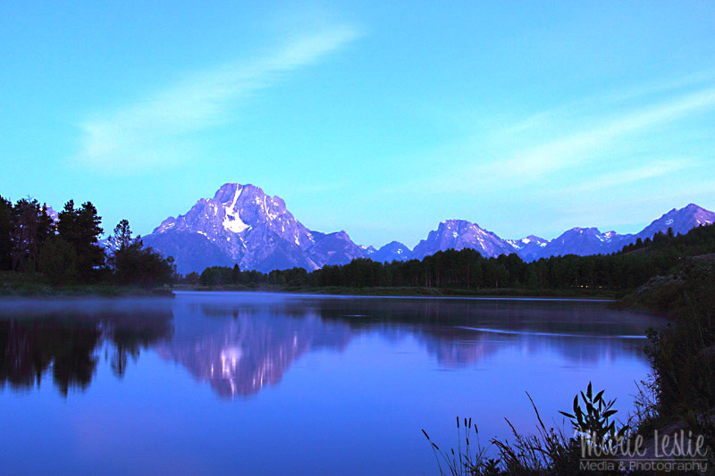 oxbow bend grand teton pre dawn