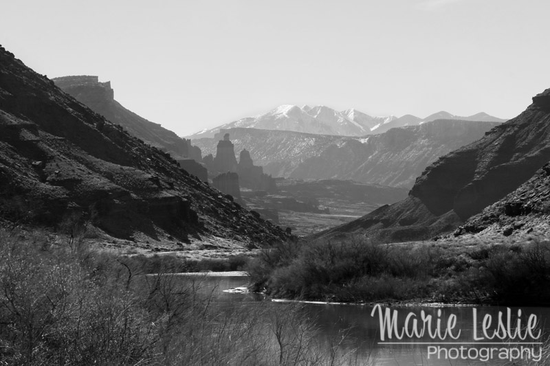 Colorado River Valley at Moab