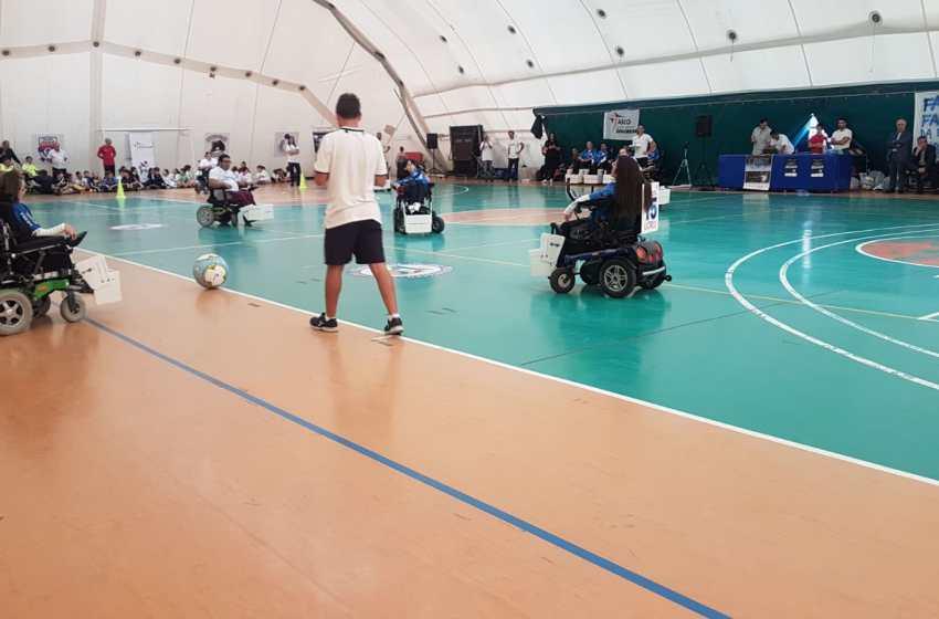 """Triangolare di calcio in carrozzina per dimostrare che la disabilità non ha barriere. Le gare al don Orione di Ercolano dove si è svolto """"Testimonianze"""""""