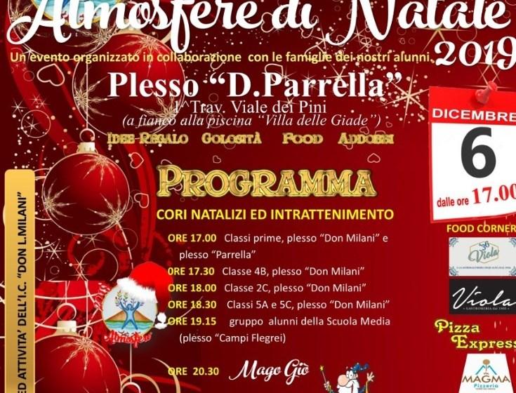 """Alla scuola don Milani è già """"Atmosfere di Natale"""": mercatini e non solo."""