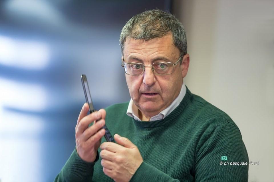 Il sindaco Giovanni Palomba, foto Pasquale D'Orsi