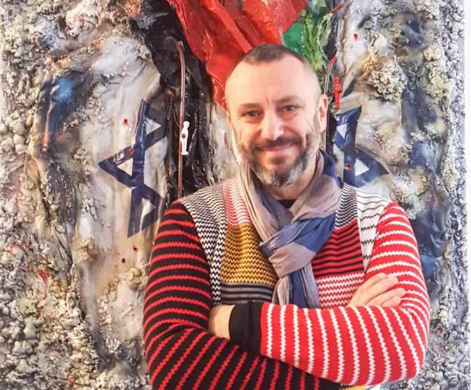 MagmArte, l'artista Maurizio Romeo prof per un giorno alla scuola Mazza-Colamarino