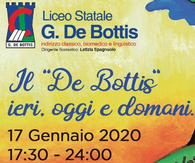 Il De Bottis festeggia i novant'anni alla Notte Nazionale del Liceo Classico