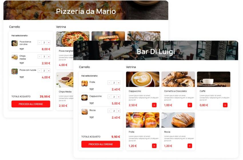 Nasce Vetrina Live, l'App senza commissioni per pizzerie, bar e commercio online