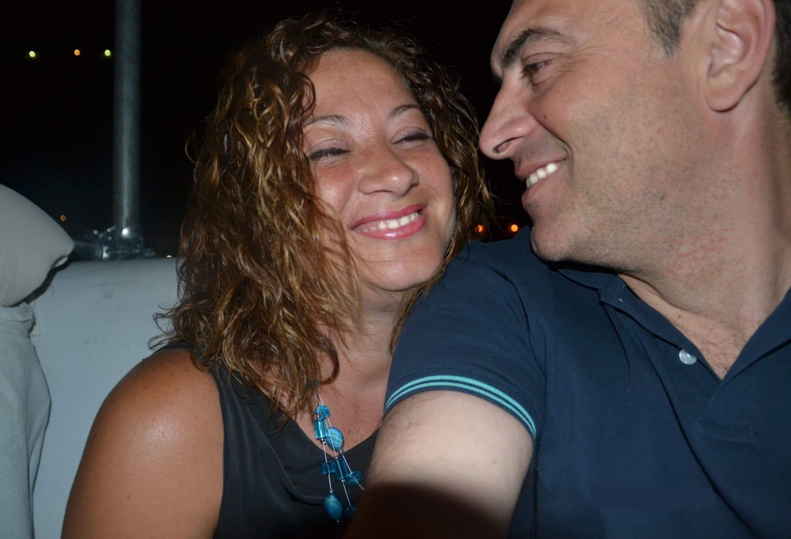 Michele Di Donna con la moglie Cira Montella