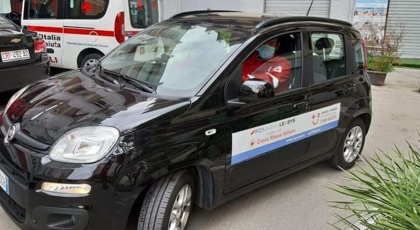 Ritrovata dai carabinieri la Panda rubata alla Croce Rossa di Ercolano