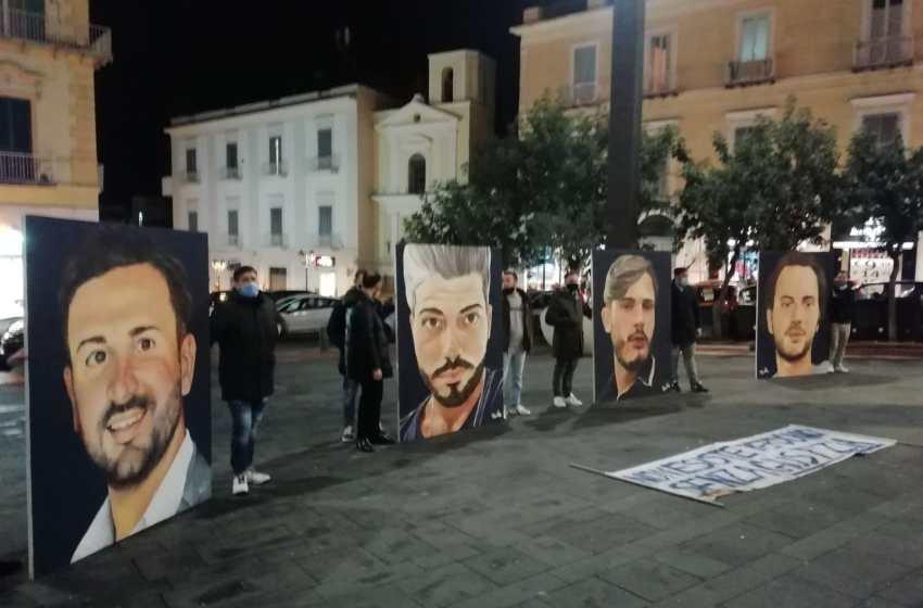 Flash mob per chiedere giustizia e verità per le vittime di Ponte Morandi