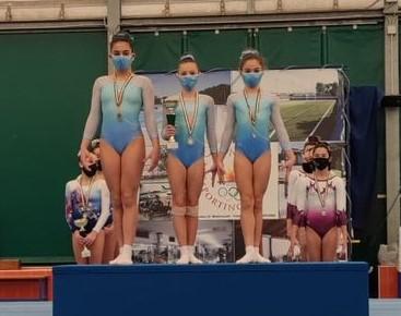 Piccole atlete torresi vincono il campionato agonistico regionale di ginnastica serie D