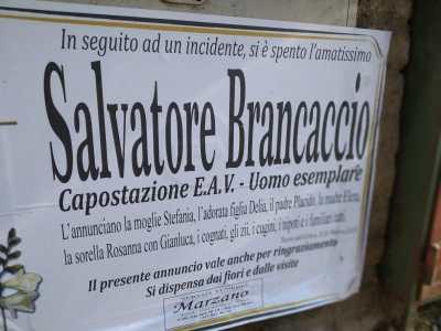 capostazione-salvatore-brancaccio-incidente-circum-volla-torre-del-greco-mariella-romano-cronaca