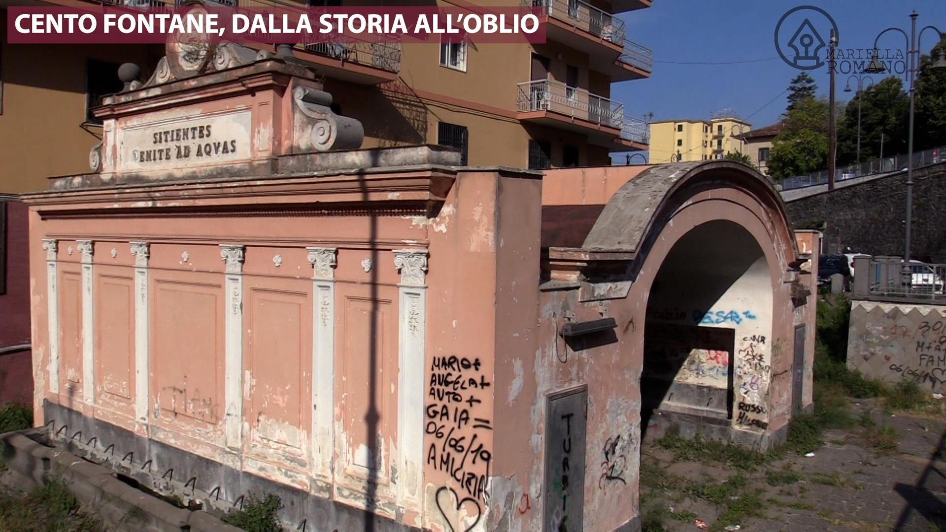 Cento Fontane, dalla storia all'oblio. Il Comune di Torre del Greco pensa al restauro (Video)
