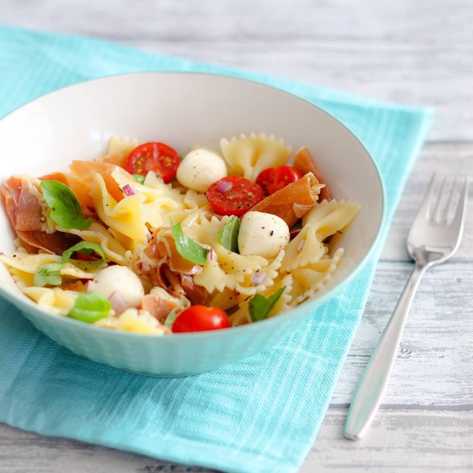 caprese-pastasalade