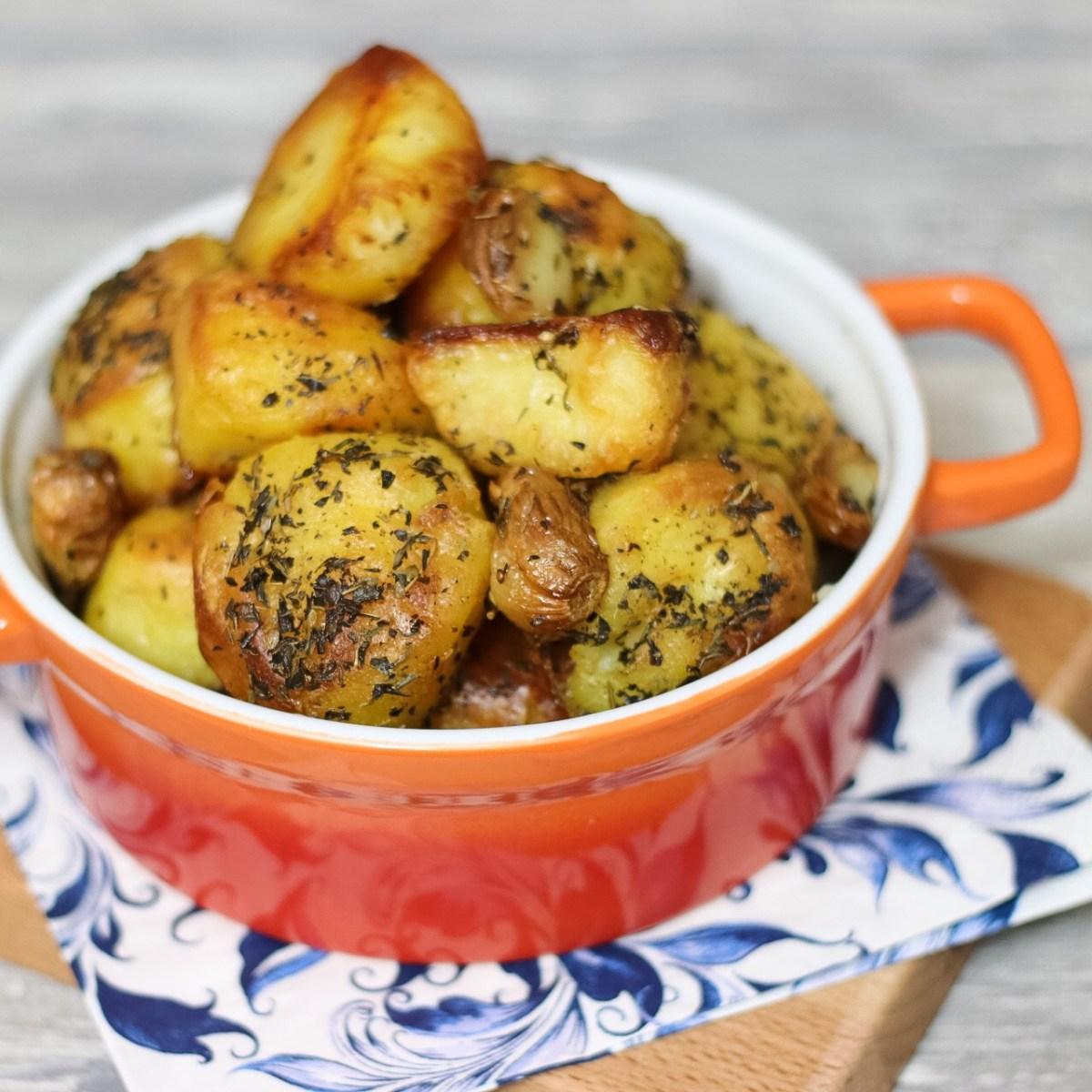 Perfect geroosterde aardappelen