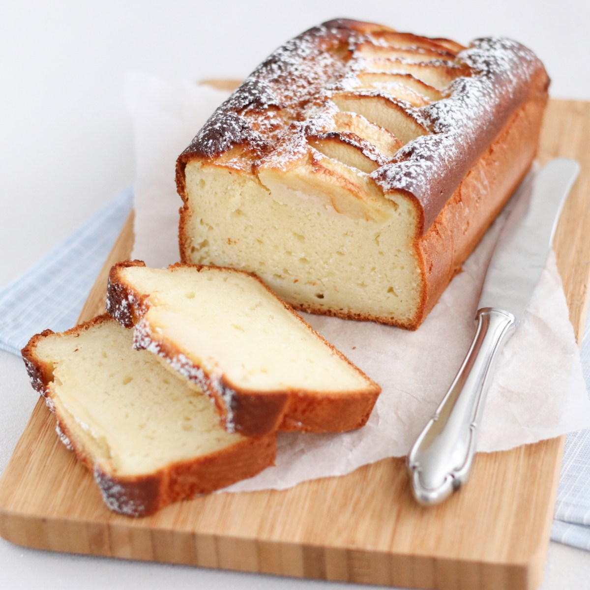 Appel-yoghurtcake
