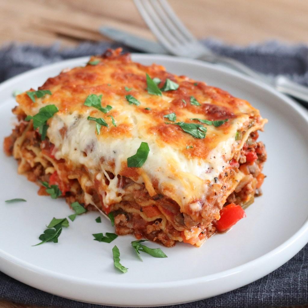 Lasagne met lekker veel groente