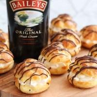 Soesjes met Baileys-slagroom