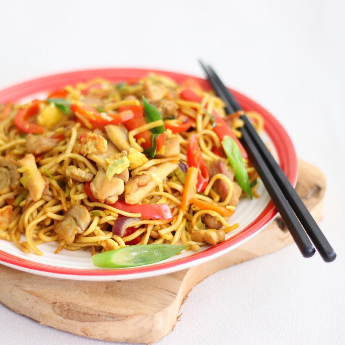 Bami met veel groente