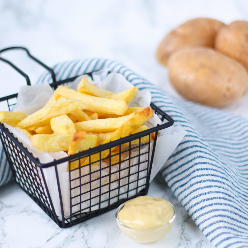 Zelf verse patat bakken in de frituurpan