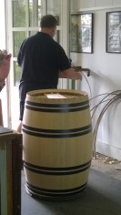 One of 4 places in the world where they hand make oak barrels