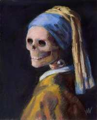 Girl With Pearl Earring Painting Description