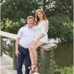 Reney + Lee | An Engagement Session at Bayou Oaks Golf Course