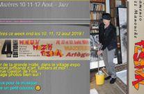 J'expose à Mazères 10-11-12 Aout – Jazz Manouche