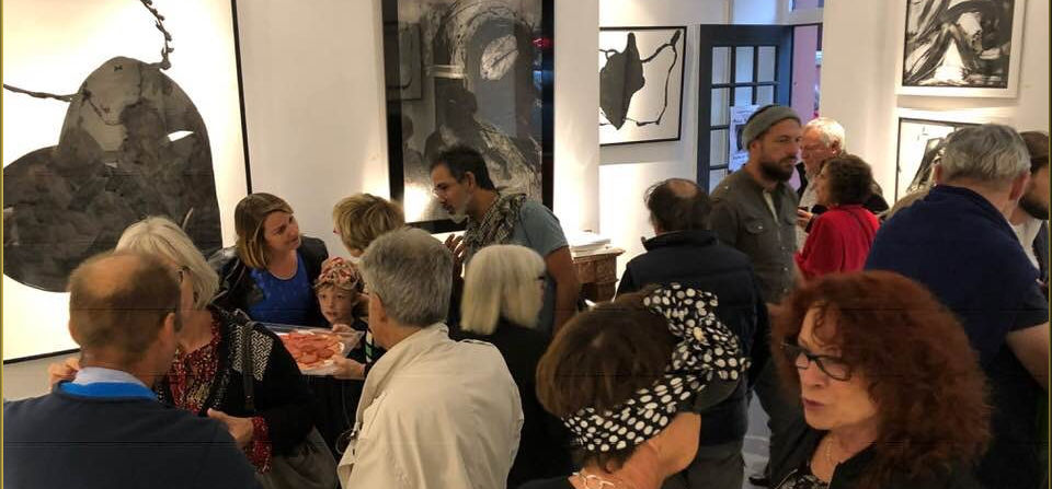 Vernissage galerie Mage (Toulouse)