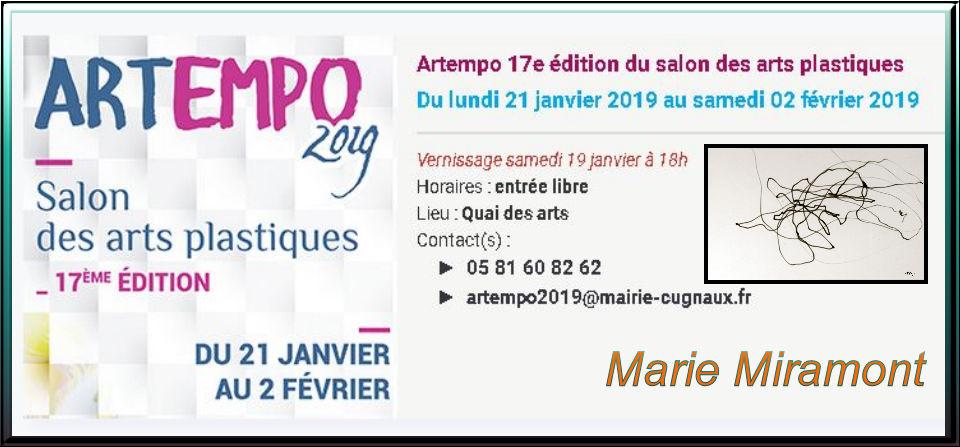 Artempo 17e édition du salon des arts plastiques, Cugnaux