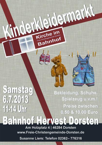 Kinderkleidermarkt-PosterA5