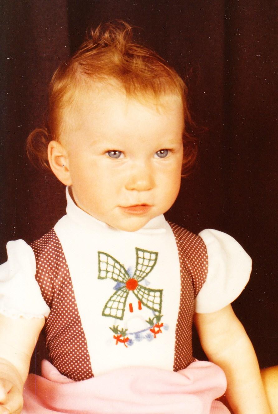 Marie O'Riordan baby