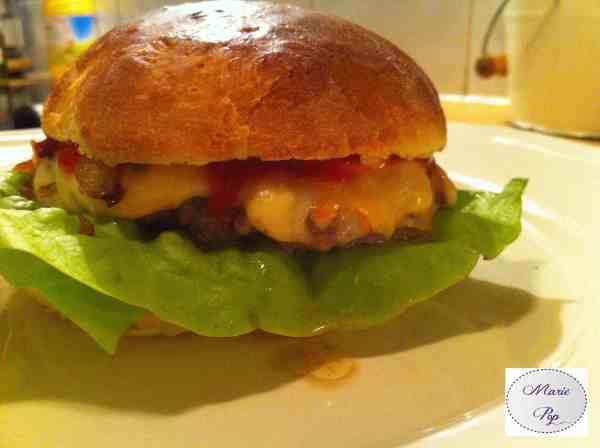 recette burger  100% maison