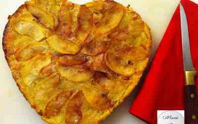 Gâteau / Galette croustillante aux pommes… Chouette un Gâtette !