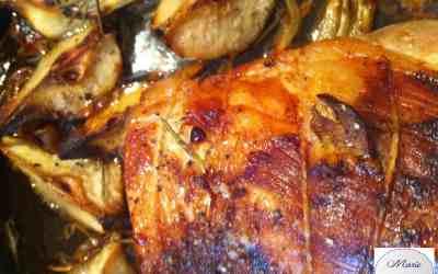Un rôti hyper gourmand ! Miel, poires, romarin … Vous allez vous resservir.
