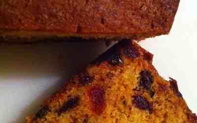 Un cake aux fruits confits et aux raisins… Une recette de famille !