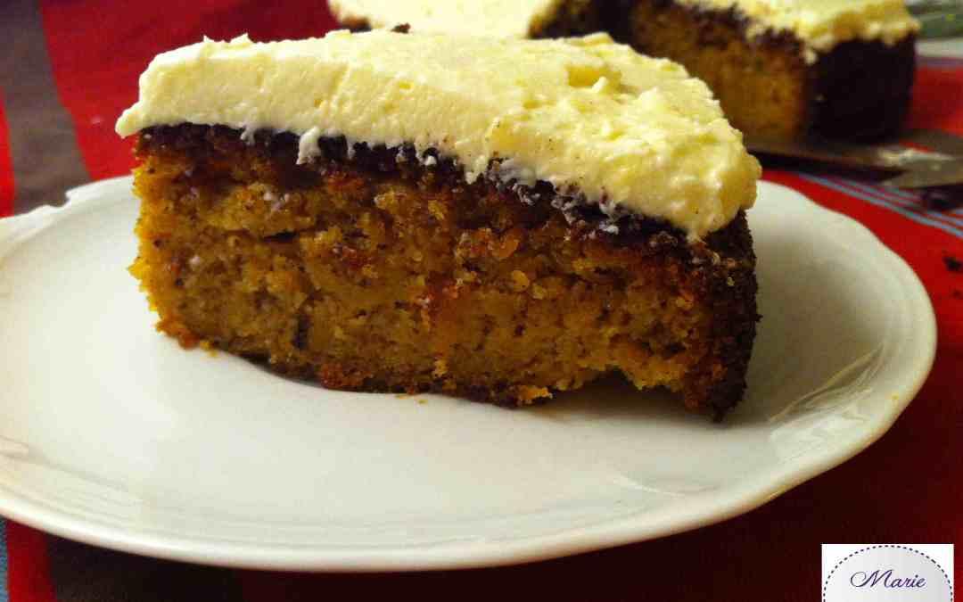 Carrot Cake – En voilà un gâteau qui a du goût !