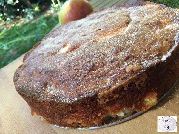 Fondant aux Poires… «Il est bon ce gâteau» !