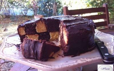 Gâteau Damier – Marie Pop épate les copines !