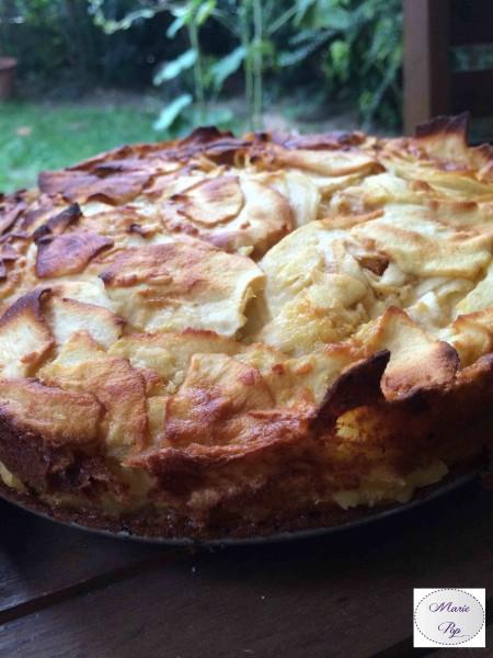 Gâteau aux cent couches de pommes - la recette
