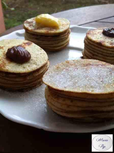 Minis gâteaux de crêpes - la recette