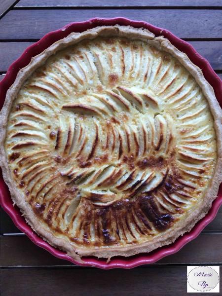 Tarte aux pommes - la recette