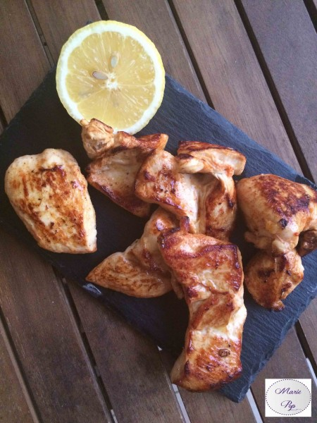 Poulet mariné au citron - la recette indispensable