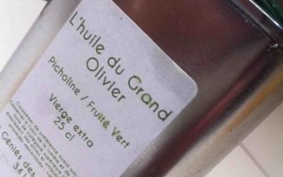 L'huile du Grand Olivier… Fruitée, Puissante, Enivrante !