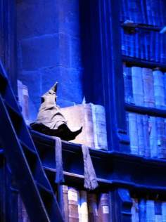 The Infamous Sorting Hat - Warner Bro's Studio Tour, London