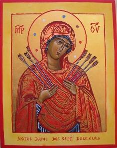 Notre Dame Des 7 Douleurs : notre, douleurs, Neuvaine, Septembre,, Préparer, Fête, Notre-Dame, Douleurs., Jésus, Marie