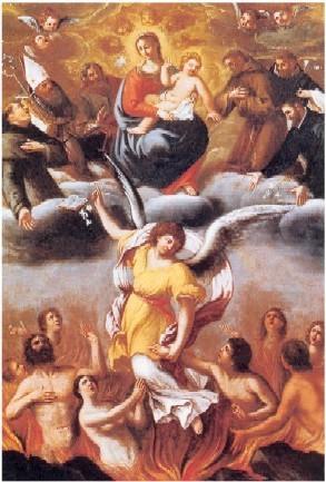 Priere Pour Les Ames Du Purgatoire : priere, purgatoire, Neuvaine, âmes, Purgatoire, Jésus, Marie