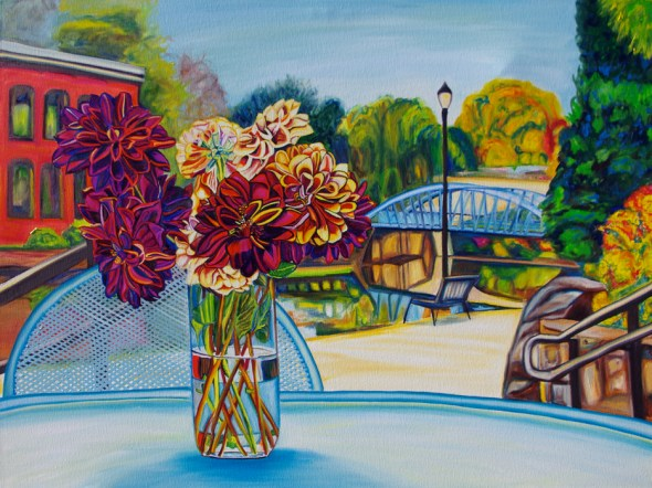 GREENVILLE BOUQUET • 30 inches x 40 inches • ©2013 Marie Scott