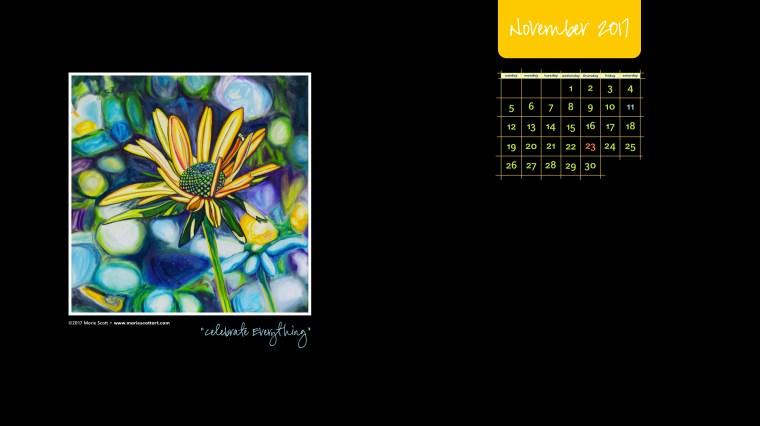 November 2017 Desktop Calendar600px